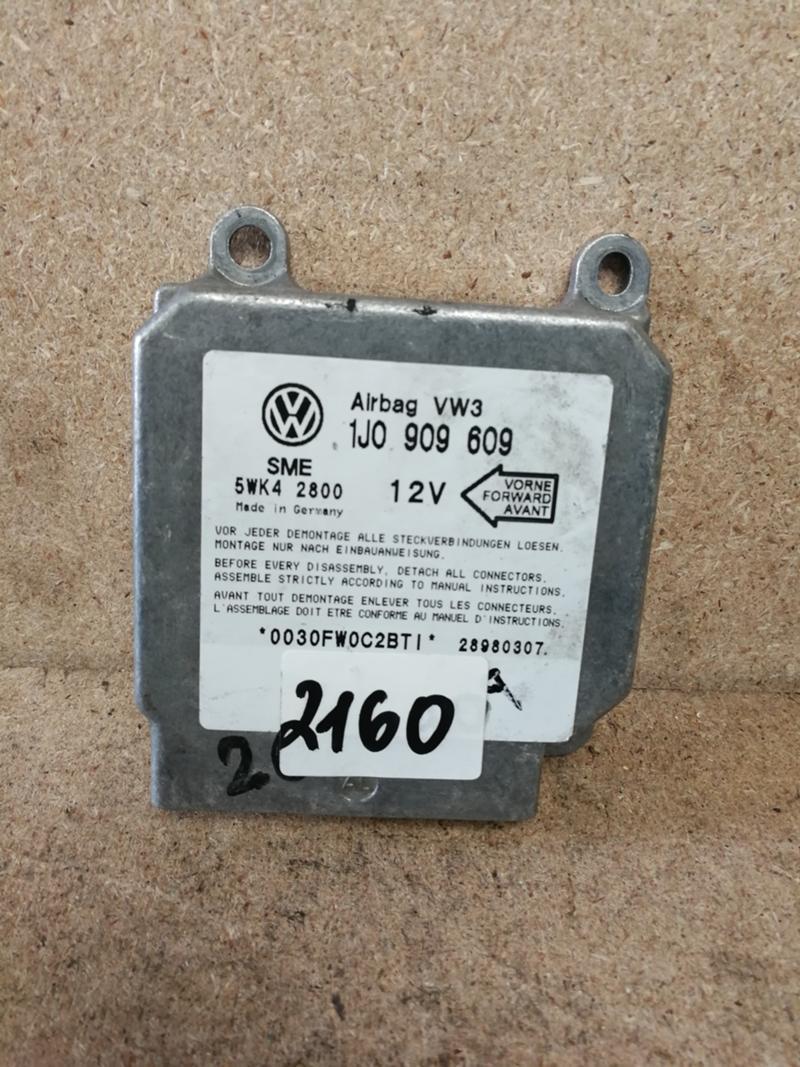 AIR BAG ECU СЕНЗОР Volkswagen Golf 4 Seat Toledo 1  Ref.N.2160