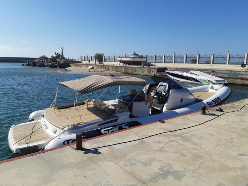 Надуваема лодка SACS STRIDER 11