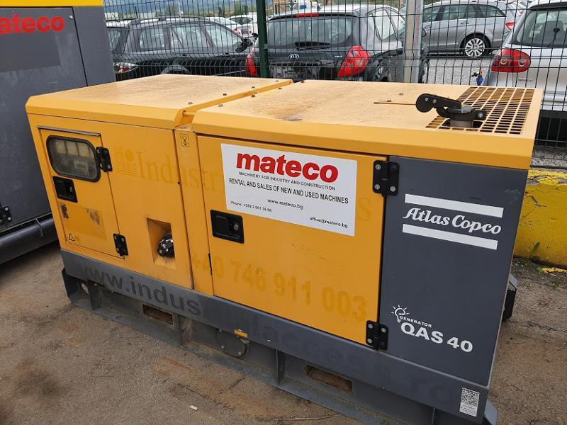 Допълнително оборудване Електроагрегат Atlas Copco QAS40 Kd