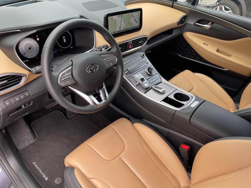 Hyundai Santa fe 2.2CRDI/6+1/модел 2021г., снимка 8