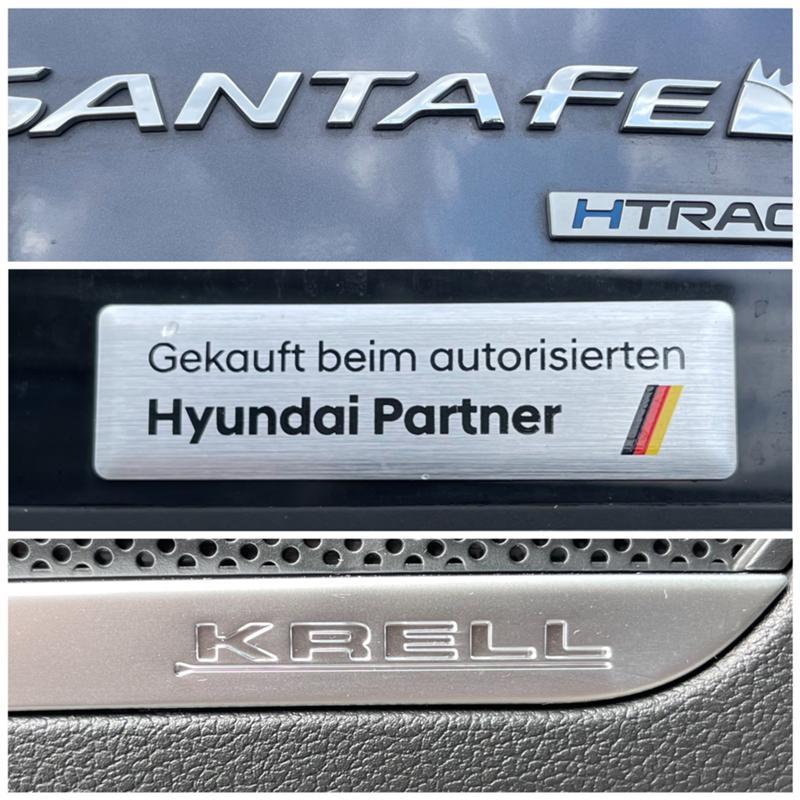 Hyundai Santa fe 2.2CRDI/6+1/модел 2021г., снимка 17